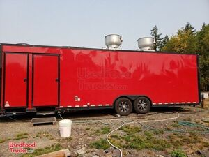 28' Food Concession Trailer with Bathroom / Certified Professional Mobile Kitchen Sale.