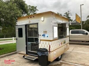 2020 8.5' x 11' Soft Serve Frozen Yogurt / Smoothie Turnkey Concession Trailer.