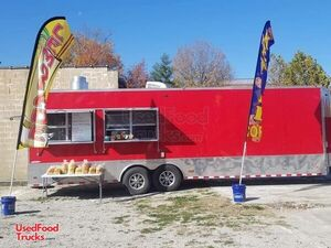 2020 Freedom 8' x 28' Concession Trailer w/ Bathroom + Turnkey Kettle Corn Biz.