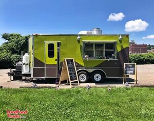 LOADED 2013 Diamond Cargo 8.5' x 20' Mobile Kitchen Food Concession Trailer.