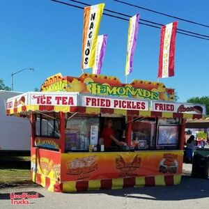 Show Me 8.5' x 14' Food Concession Trailer / Used Mobile Food Unit Sale.