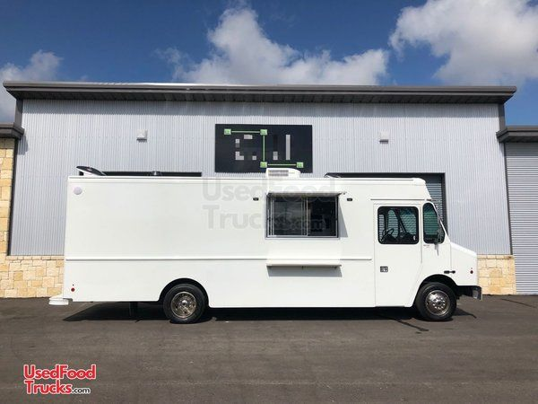 Made-to-Order Step Van Pizza Food Truck / New Custom-Built Mobile Kitchen.