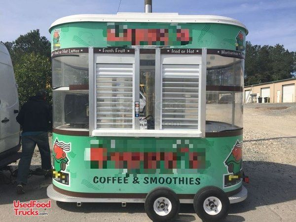2009 Snowie 8' x 10' Coffee Concession Trailer / Used Mobile Cafe.
