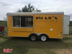 8' x 16' Up to Code Street Food Concession Trailer / Mobile Kitchen.