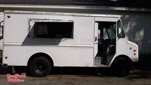 Ready to Use Chevrolet Step Van Food Truck / Used Mobile Kitchen.
