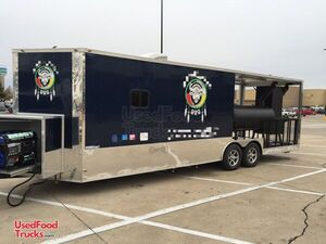 2018 Freedom 8.5' x 26' Barbecue Concession Trailer with 12' Porch.