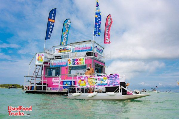 Turnkey Established Business. 2017 Ice Cream and Snow Cone Concession Boat.