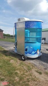 2006 - 5' x 8' Snowie Shaved Ice Concession Trailer / Used Snowball Trailer.