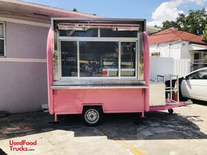 2020 - 5.5' x 7.5' Dipping/Soft Serve Ice Cream Concession Trailer.