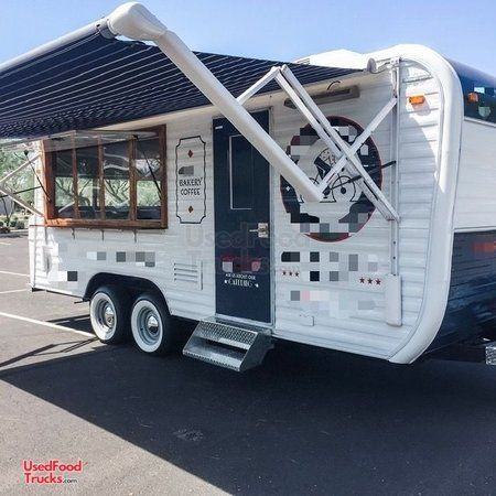 Vintage 1973 - 8' x 20' Yellowstone Camper Concession Trailer w/ 2019 Kitchen.