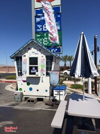 TURNKEY Towable Shaved Ice Concession Stand / Mobile Snowball Business.