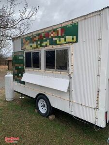 8' x 12' Health Department Approved Mobile Kitchen Food Concession Trailer.