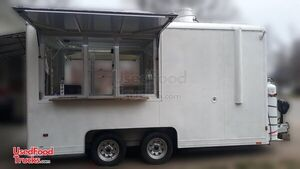 2006 Wells Cargo Magnum 7' x 14' Mobile Kitchen Food Concession Trailer.