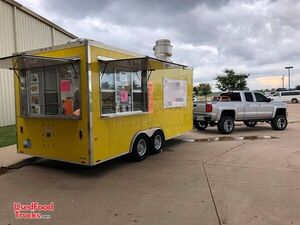 2015 - 8.5' x 18' Food Concession Trailer / Commercial Mobile Kitchen.