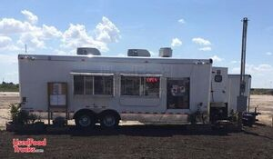 2017 8' x 24' Cargo Craft Fully-Loaded Mobile Kitchen Food Concession Trailer.