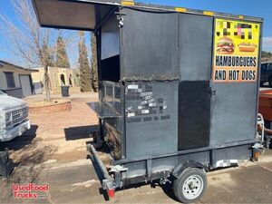Used 2019 - 5' x 10' Mobile Kitchen Food Concession Trailer.