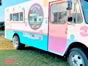 GMC Stepside Ice Cream Truck / Used Mobile Ice Cream Store.