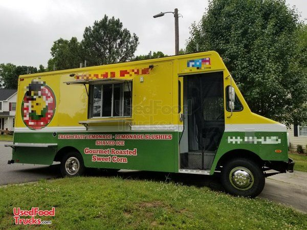 GMC P30 22' Step Van Corn Roasting and Kitchen Food Truck.