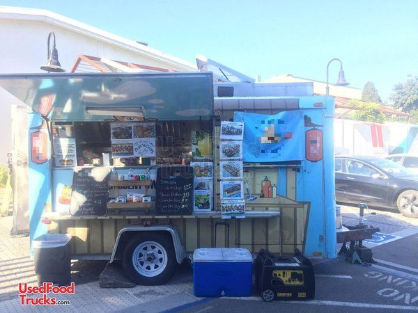 Fully Operational Haulmark 8' x 15' Food Concession Trailer.