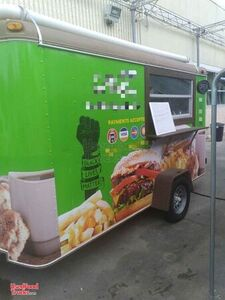 Lightly Used 2000 Food Concession Trailer with 2020 Kitchen Build-Out.
