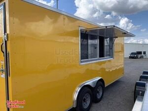 2021 - 8' x 20' Empty Concession Trailer / Basic Mobile Business Unit.