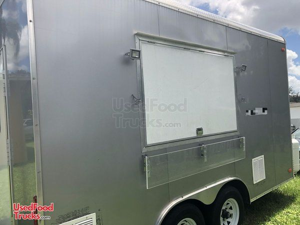 2018 Food Concession Trailer with Professional Kitchen- Only Used for 6 Months.