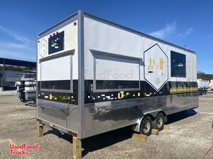 2019 - 8.5' x 24' Well Equipped Mobile Kitchen Food Concession Trailer.