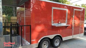 CUSTOM TO ORDER NEW 8.5' x 20' Freedom Food Concession Trailer with a 4' Porch.