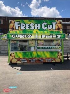 Completely Rebuilt 16' Street Food Concession Trailer / Mobile Kitchen.