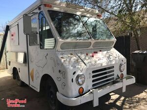 1967 Dodge Vintage Step Van Mobile Kitchen / Used Retro Food Truck.