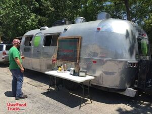 1971 8' x 26'  Vintage Airstream Mobile Kitchen Food Concession Trailer.