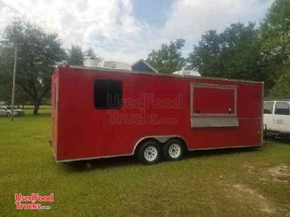 Lightly Used and Very Spacious Food Concession Trailer ...