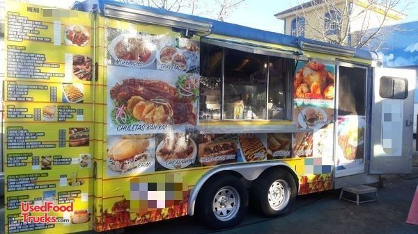Fully Loaded Food Concession Trailer / Commercial-Grade Mobile Kitchen.