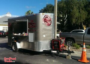 2014 - 6' x 10' Mobile Coffee Shop / Used Coffee Concession Trailer.