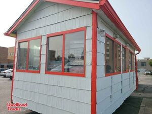 2005 Used 18.3' Concession Stand Building Street Food Concession Trailer.