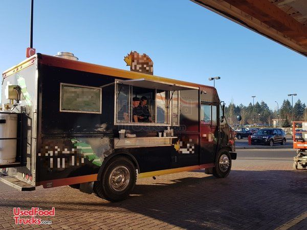 Dazzling 2003 16' Diesel Venture Step Van Food Truck/Mobile Kitchen.