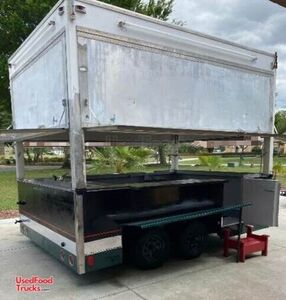 8' x 12' Street Food Vending Concession Trailer / Mobile Food Unit.