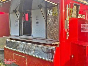 4' x 8' Compact Food Concession Trailer w/ Pro Fire Suppression System.