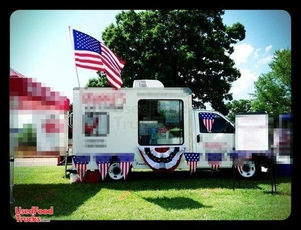 Used 2004 GMC Ice Cream Truck / Mobile Ice Cream Business.