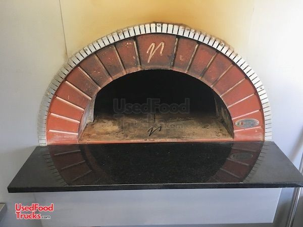2018 8 X 28 Wood Fired Pizza Concession Trailer With