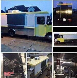 GMC Union City Body Classic Step Van Food Truck with All Stainless Steel Kitchen.