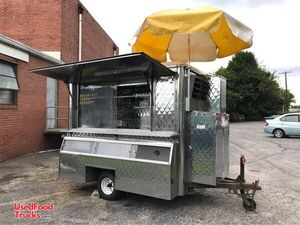 All Stainless Steel Compact 2007 Food Concession Trailer / Crepe Trailer.
