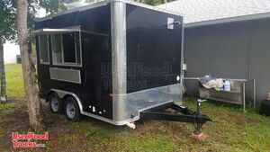 Lightly Used 2018 8' x 12' Kitchen Food Trailer/Mobile Kitchen.