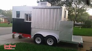 Ready for Action 8' x 18' Food Concession Trailer / Awesome Mobile Kitchen.
