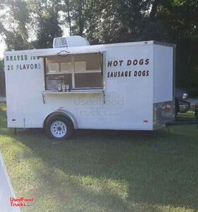 2020 - 6' x 12' Snowball Concession Trailer / Used Shaved Ice Trailer.