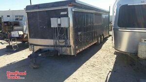 8' x 24' Pace American Kitchen Mobile Kitchen Food Concession Trailer.