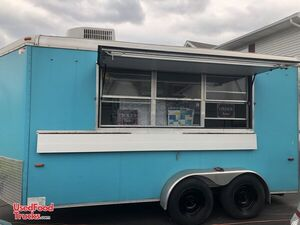 2009 - 7' x 16' Used Street Food Concession / Catering Trailer.