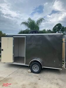 Ready to be Transformed Unused 2020 Anvil 6' x 12' Concession Trailer.