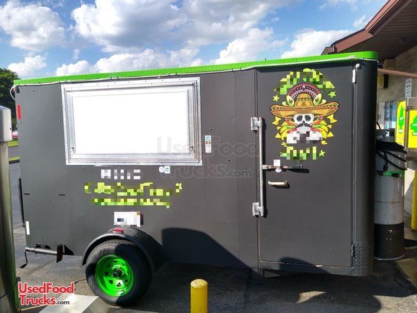 2000 - 6.5' x 12' Food Concession Trailer with 2019 Kitchen.