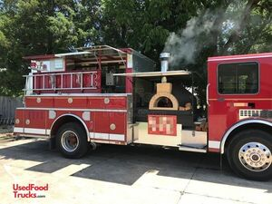 Inspected Spartan Wood-Fired Pizza Fire Truck / Certified Mobile Pizzeria.